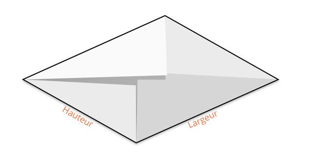 comment faire une enveloppe interesting comment faire une. Black Bedroom Furniture Sets. Home Design Ideas
